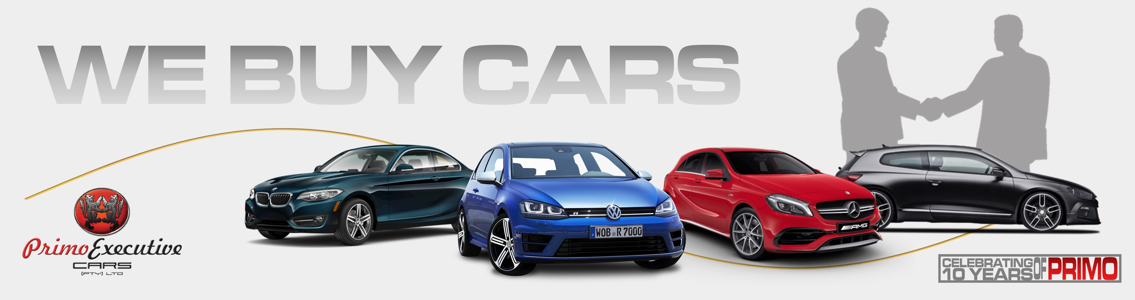 WE BUY CARS – Primo Executive Cars